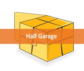half garage storage